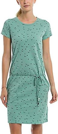 Bench Printed Jersey Dress, Vestido para Mujer, Rosa (Pineapple Minimal with Pop. St P1457), Large