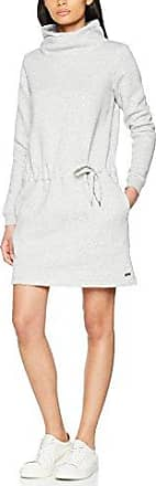 Jerseykleid Nigtro - Robe Femme, Gris (Grey Marl) - Small (Taille fabricant: Small)Bench