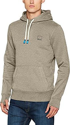 Her. Hoodie, Capucha para Hombre, Gris (Winter Grey Marl Ma1054), Small Bench