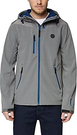 Softshelll Jacket, Chaqueta para Hombre, Gris (Dark Grey Gy149), Small Bench