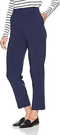Benetton Trousers, Pantalones para Mujer, Azul (Dark Blue 909), W28/L32 (Talla del fabricante: 42)