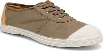 Bensimon - Herren - Linenoldies - Sneaker - grün
