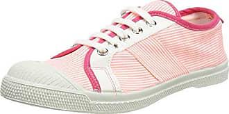 Bensimon Tennis Lacet, Zapatillas para Mujer, Multicolor (Rouge Hibiscus), 40 EU