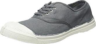 Bensimon - Damen - Fines Rayures - Sneaker - grün