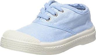 Bensimon Unisex-Kinder Tennis Lacet Colorspots Sneaker, Blau (Bleu), 27 EU