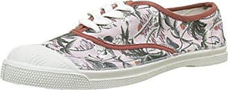 Bensimon Tennis Lacets Surf Prints, Zapatillas para Hombre, Multicolor (Imprime Palmiers), 45 EU