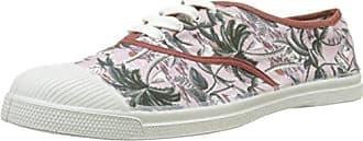 Bensimon Tennis Lacets Surf Prints, Zapatillas para Hombre, Multicolor (Imprime Palmiers), 42 EU