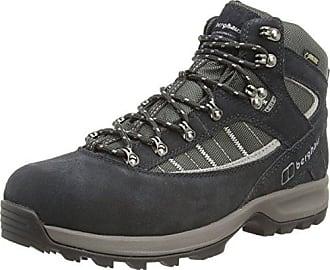 Berghaus Explorer Trek Plus GTX, Chaussures de Randonnée Hautes Homme, Bleu (Black/Navy/Frost Grey V35), 39.5 EU