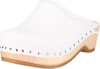 Dr. Brinkmann 703171 703171 - Zuecos para mujer, color blanco, talla 43