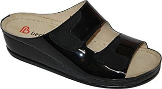 Berkemann Pantolette Burgdorf Atlanta schwarz, Schuhgröße:EUR 41.5