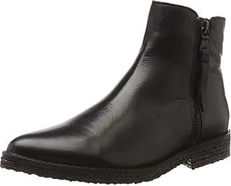 Bianco Mit Details, Chelsea Boots Femme, Noir (Black 10), 37 EU