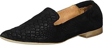 Bianco Spitzer Loafer 25-49308, Mocassins Femme, Noir (Black 10), 40 EU