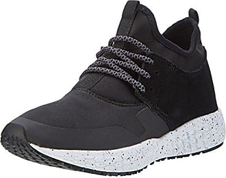BIANCO 32-49170, Low-Top Donna, Nero (Nero (Black)), 40 EU