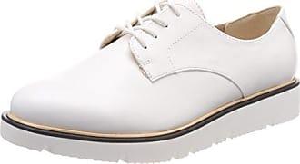 s.Oliver 23651, Zapatos de Cordones Brogue Para Mujer, Beige (Nude Comb), 40 EU