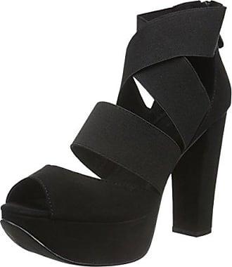 Aufregende Riemchensandale 35-49355, Womens Heels Sandals Bianco