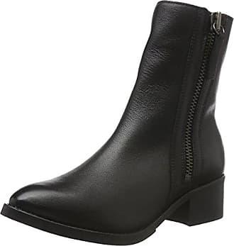 Bianco Warm Boot W/Outside Zip 33-48987, Botines para Mujer, Negro, 38 EU