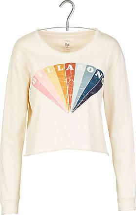 Baumwoll-Sweatshirt mit Rundhalsausschnitt und Siebdruck ACOTÉ