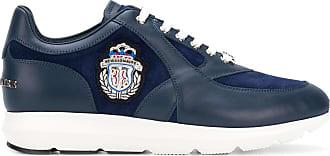 logo patch lace-up sneakers - Blue Billionaire Boys Club
