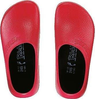 BIRKIS Birki Clogs Alpro-Schaum, Red, Größe 37 mit normalem Fußbett