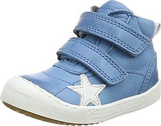 Bisgaard Klettschuhe, Baskets Mixte Enfant, Blue (Bleu Marine 600), 33 EU