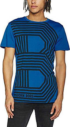 1P Tee Erik, T-Shirt Homme, Bleu (Total Eclipse 70291), SBjörn Borg