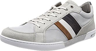 BJORN Borg T305 Low CLS M, Zapatillas para Hombre, Multicolor (White-Green 1990), 46 EU