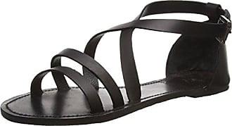 Naja Sandal, Womens Open Toe Sandals Black Lily