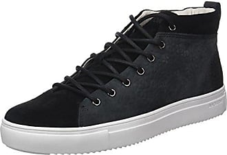 OM56.Blk, Baskets Basses Homme, Noir (Black), 42 EUBlackstone