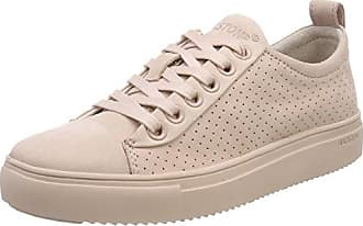 Blackstone PERFORATED HIGH FL62, Sneaker donna, Rosa (Pink (Rosa Antico)), 41