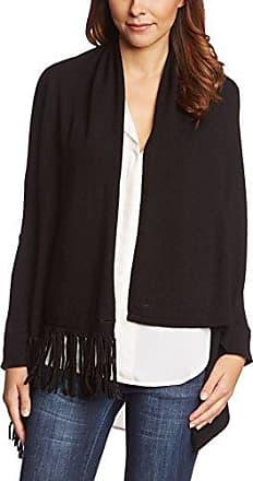 Jersey Woven Floaty - Gilet - Manches Longues - Femme - Noir (Black) - Medium (Taille Fabricant: Medium)Windsmoor