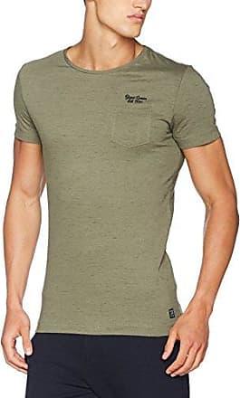 027cc2k062, T-Shirt Homme, Vert (Olive 360), SmallEDC by Esprit