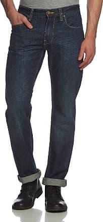 Vaqueros regular fit para hombre, talla W33/L32 (ES 44), color Azul oscuro 865 Blend