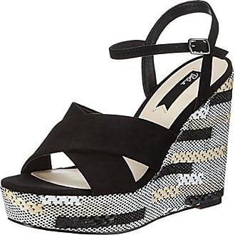 Womens Bl 1369 Briva-Chunkyl Platform Sandals, Navy/Silver Blink