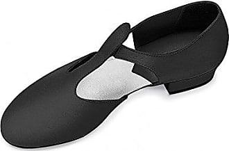 Leo's 4006 Black Gioflex Jazz Shoe 3UK 6US AXfKi