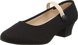 Essential Jazz - Chaussures de Danse - Femme - Noir - FR: 31.5 EU(Taille Fabricant : 11.5)Bloch