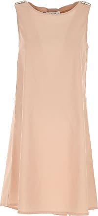 Dress for Women, Evening Cocktail Party On Sale, Peach, polyester, 2017, 12 Blugirl