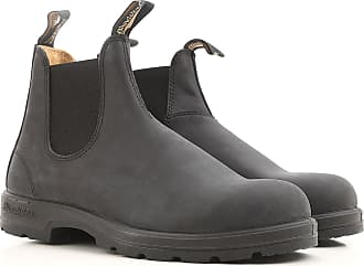 Boots for Men, Booties On Sale in Outlet, blackboard, Leather, 2017, 5.5 Blundstone