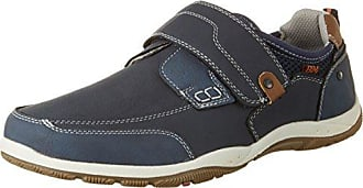 BM Footwear 2710602 - Tobillo bajo de Piel sintética Hombre, Color Gris, Talla 43 EU