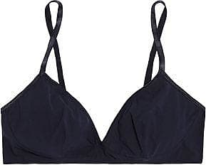 Bodas Woman Stretch Supima Cotton-jersey Soft-cup Triangle Bra Gray Size 36 C Bodas