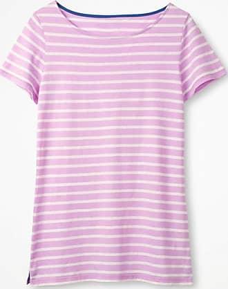 Kurzärmliges Bretonshirt Multi Damen Boden 44