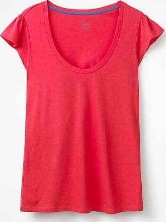 Superweiches Flatter-T-Shirt Pink Damen Boden 46