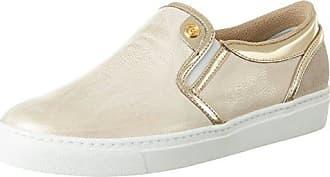 Bogner New Salzburg 19, Zapatillas para Mujer, Gold (White/Platinum), 38 EU