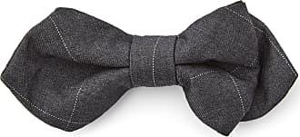 Dark Grey Chequered Self Tie Bow Tie Bohemian Revolt