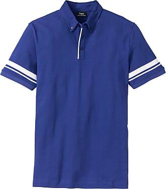 Bonprix - Polo Regular Fit orange manches courtes pour homme