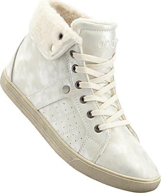 Sneaker high top in gold von bonprix Bonprix