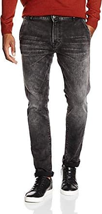 Mens Ryan Medium Rag Wash Slim Jeans Boom Bap