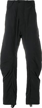 off-centre button trousers - Black Boris Bidian Saberi