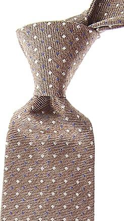 Ties On Sale, Beige, Silk, 2017, one size Borrelli Napoli