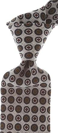 Ties On Sale, Rust Melange, Wool, 2017, one size Borrelli Napoli