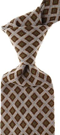 Ties On Sale, Gray Taupe, Silk, 2017, one size Borrelli Napoli